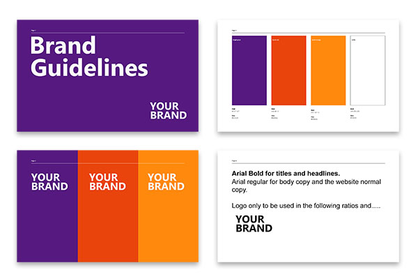 brand guidelines for business startups