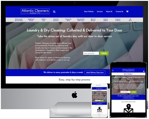 Atlantic Cleaners Web, PPC & SEO